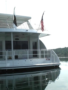 Custom Boat Railing