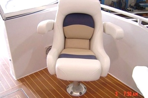 Flybridge Options for Houseboat
