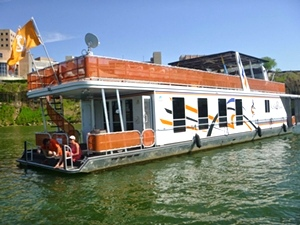 2008 Sharpe 16 x 75WB Houseboat For Sale